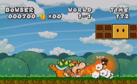 Super Bowser Bros. World 1-1